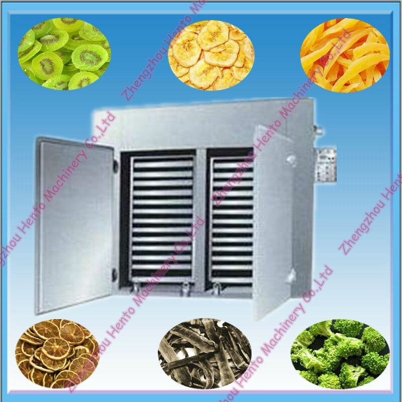 Hot Air Industrial Fruit Dryer Dehydrator Dewater Machine