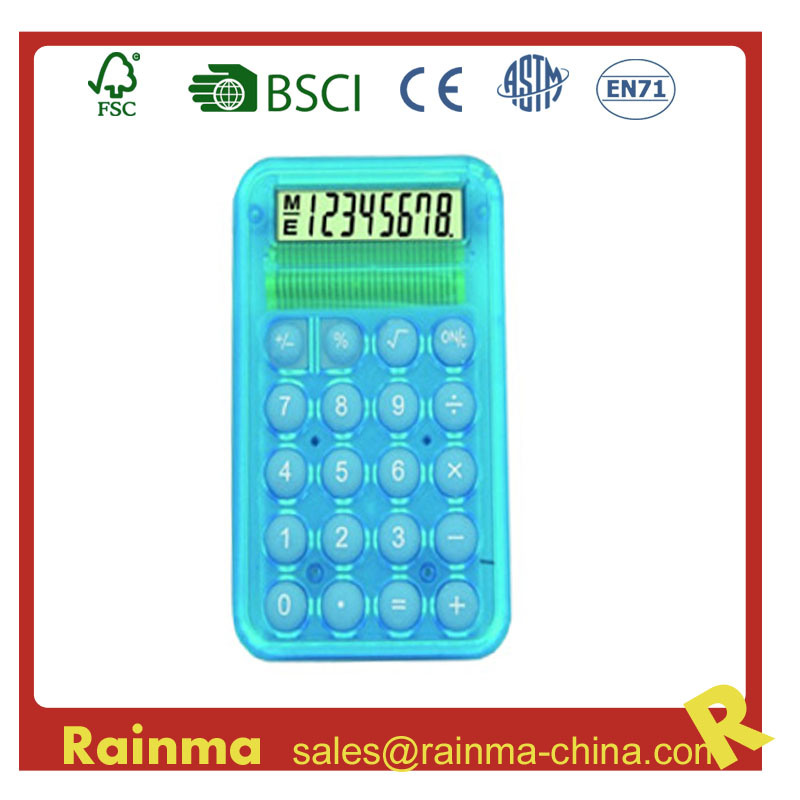 8 Digit Pocket Calculator for Promotion