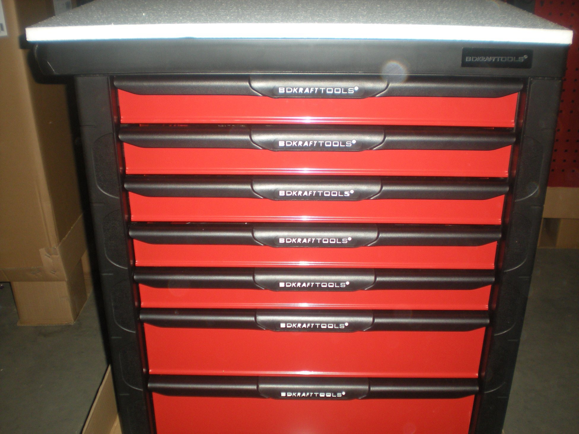 7-Drawer Roller Tool Cabinet with 196 PCS Hand Tools Assortment