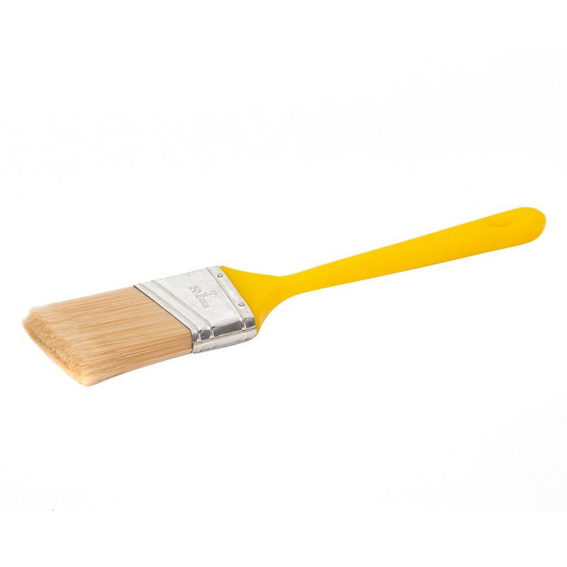 Angular Sash Brush with Plastic Handle B034