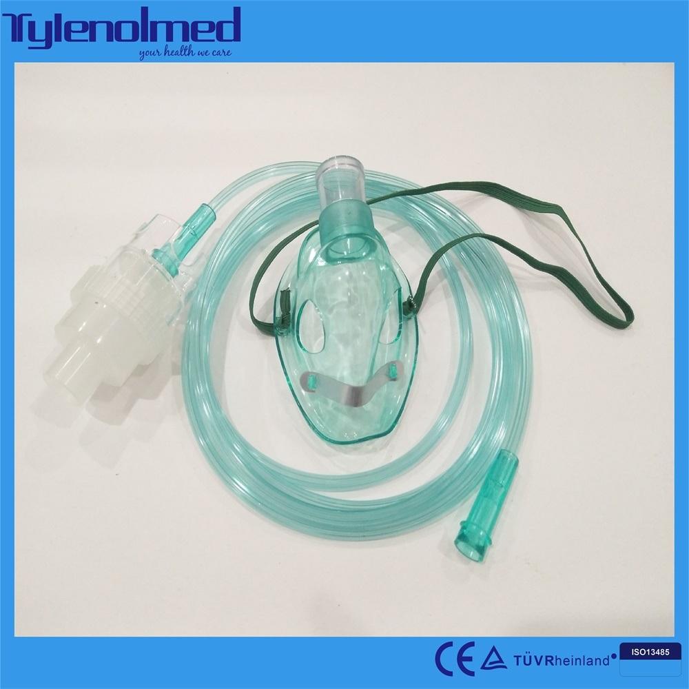 Disposable Medical PVC Nebulizer Mask with Aeresol Kit