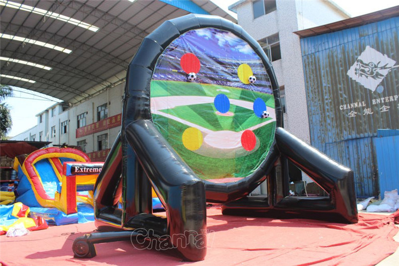 2 Side Giant Inflatable Football Dart Board Chsp527