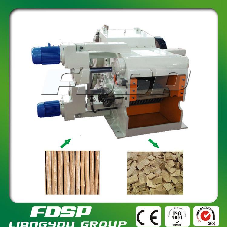 Drum Type Wood Chipper Machine