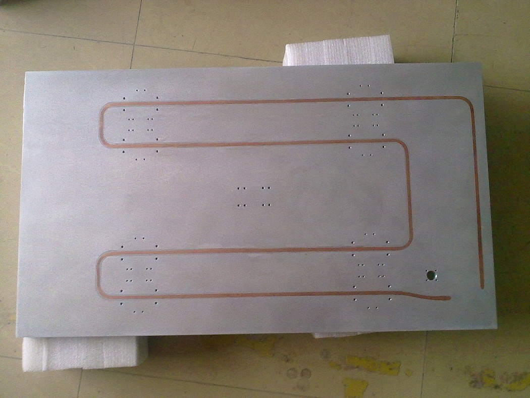Cooling Plate / Cold Plate China Tubed Cold Plate Cooling Plate #3E381A