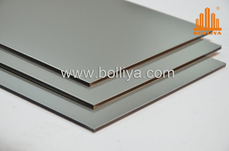 Exterior Facade Wall Fireproof Fire Rated Retardant Fr 3mm 4mm 6mm Copper Stainless Steel Titanium Zinc Acm ACP Aluminium Honeycomb Composite Panel Cladding