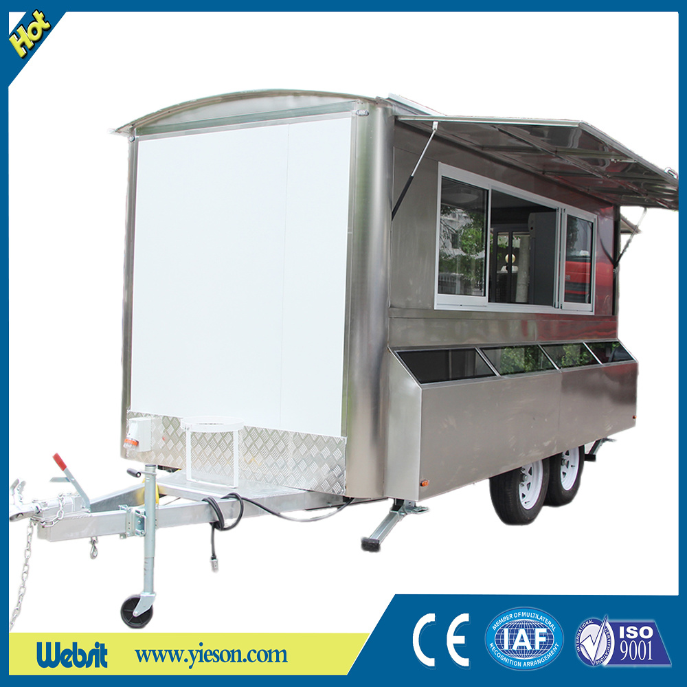 Mobile Food Trailer with Ce