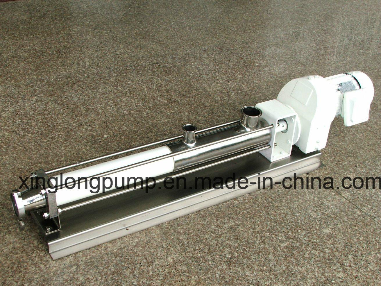 Xinglong Progressive Cavity Helical Mono Screw Pumps for Viscous Liquids