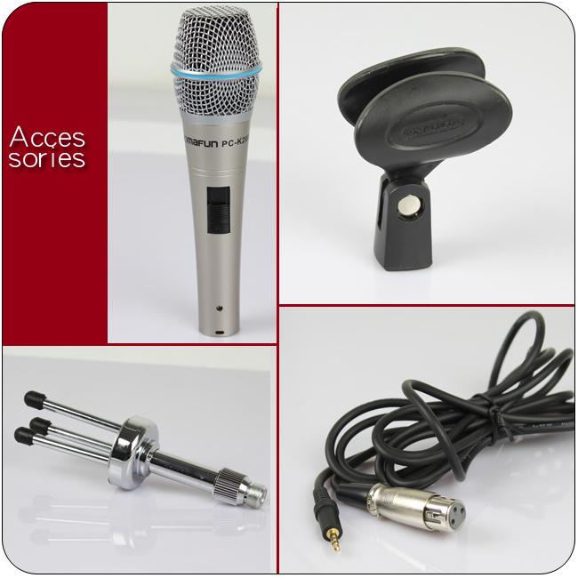 China PC Audio Recording Microphone (PC-K2000) - China ...