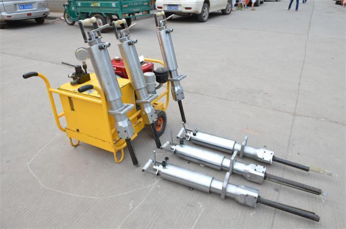 Hydraulic Splitter for Granite Rock