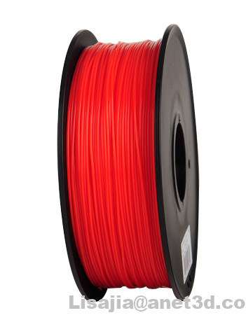 Factory Wholesale PLA 3 D Printer Fliament 1.75/ 3.0mm Red PLA Filament for 3D Printer