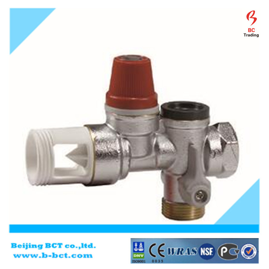 Brass Safety Valve, Bronze Relief, Pressure Relief Valve