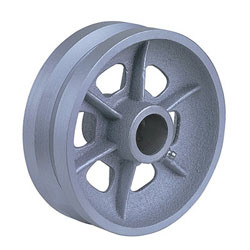 V-Groove Cast Iron Wheels