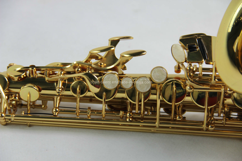 Alto Saxophone/ Green Color 82z Saxophone (AS-Y82)