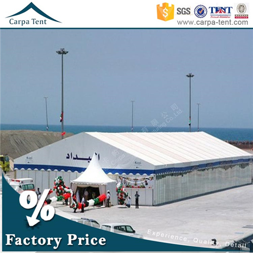 25mx40m Aluminum Alloy Structure Durable Exhibition Tent for Trade Show