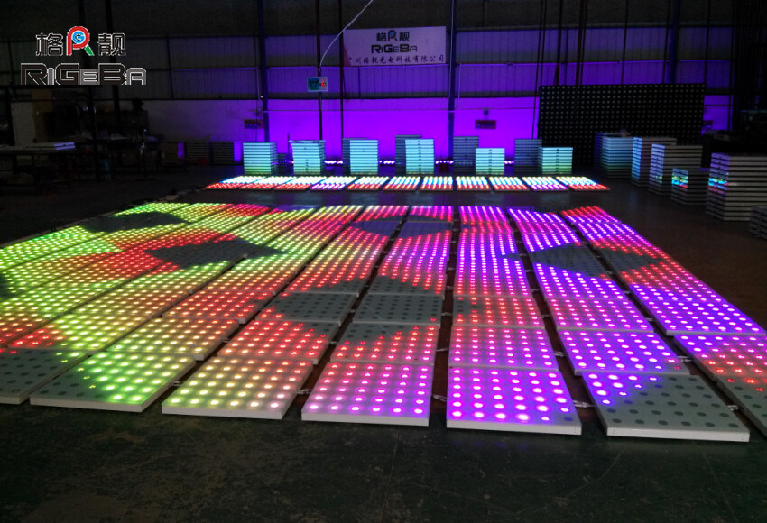 China Color Mixing LED Disco Dance Floor Lights Photos ...
