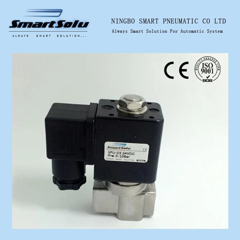 2 Way Ss304 Water High Pressure 12VDC Solenoid Valve