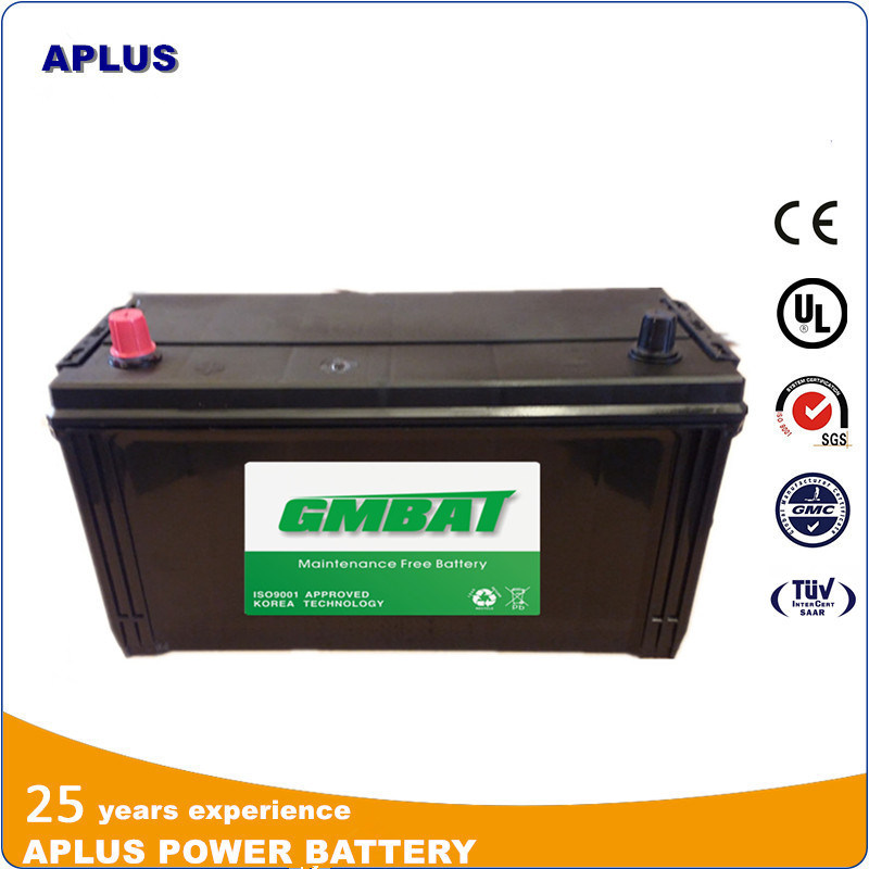 N100 95e41r 12V100ah JIS Wet Charge SMF Rechargeable Automobile Battery