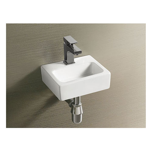 Cheap Price Ceramic Wash Basin Simple Design Wall Hung Sink