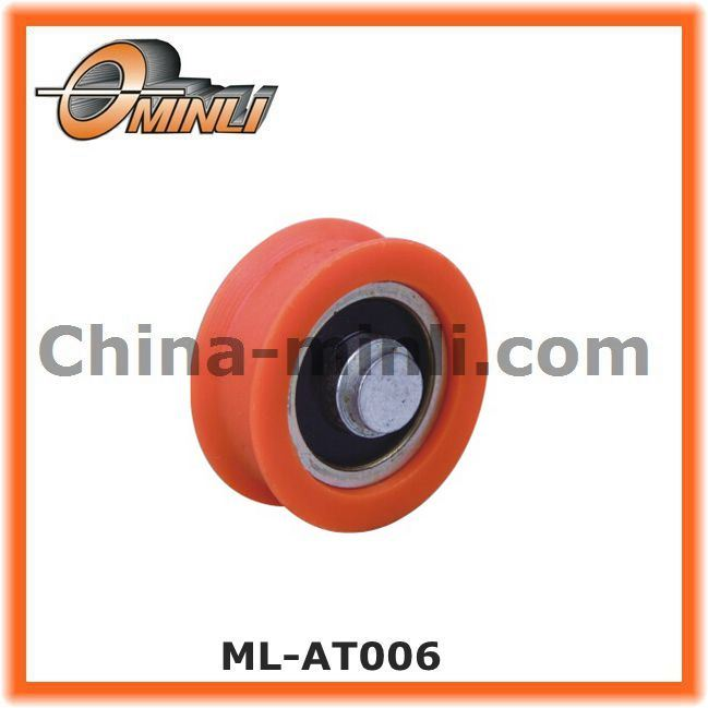 Nylon Coated Window Roller Bearing for Zinc Alloy Window Roller (ML-AT006)