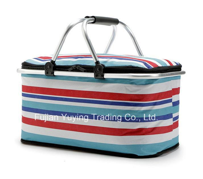 Colourful Picnic Bag Organizer Cooler Bag