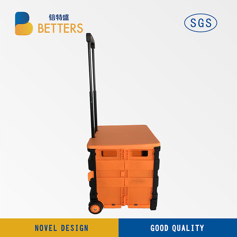 Big Moving Folding and Portable Luggage Trolley Box