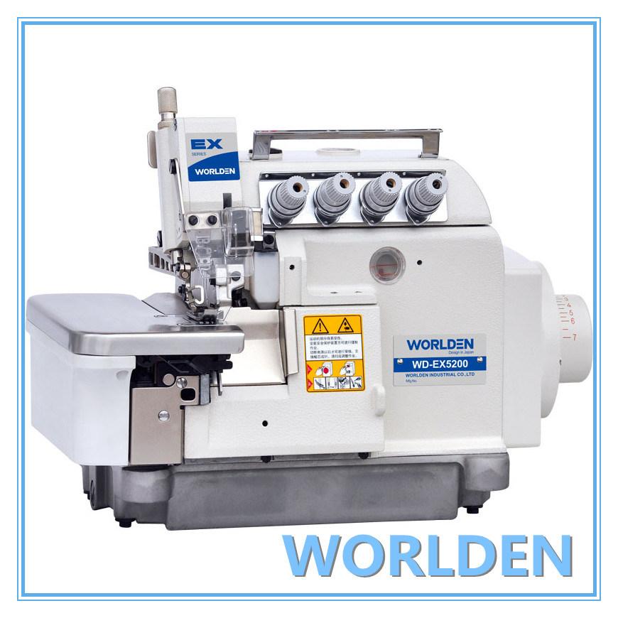 Wd-Ex5200 High Speed Four Thread Overlock Sewing Machine