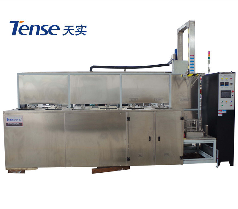 Tense Multi-Ultrasonic Cleaning Machine with Cleaning, Rinsing, Drying