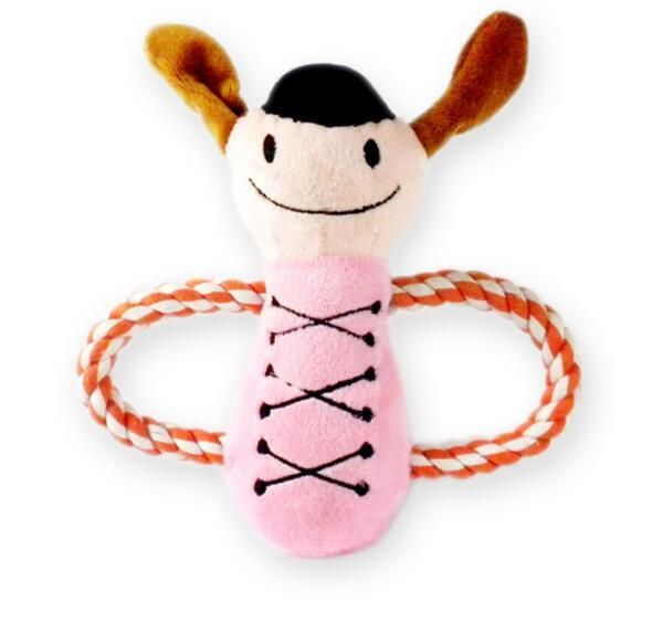 Pet Plush Toy Musicians Doll Dog Rope Toy (KB0031)