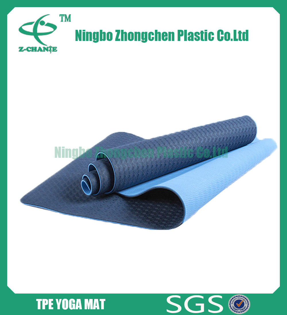 Custom Printed Mat for Yoga Travel Pilates TPE Yoga Mat