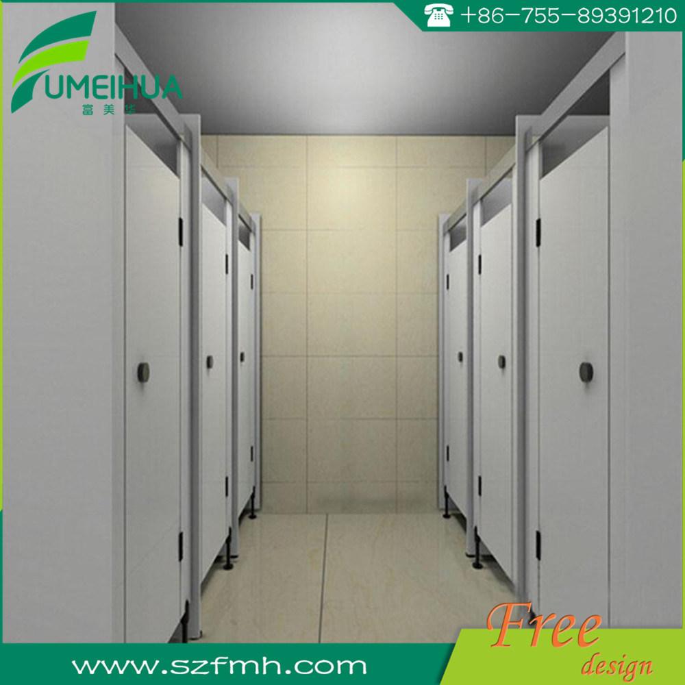 Durable Phenolic Resin HPL Laminate Toilet Cubicle