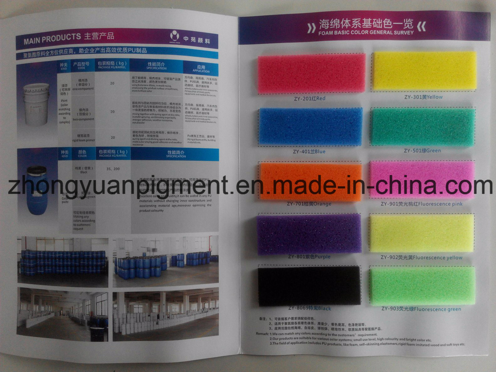 Tdi Black Color for Coloring PU Foam Sponge
