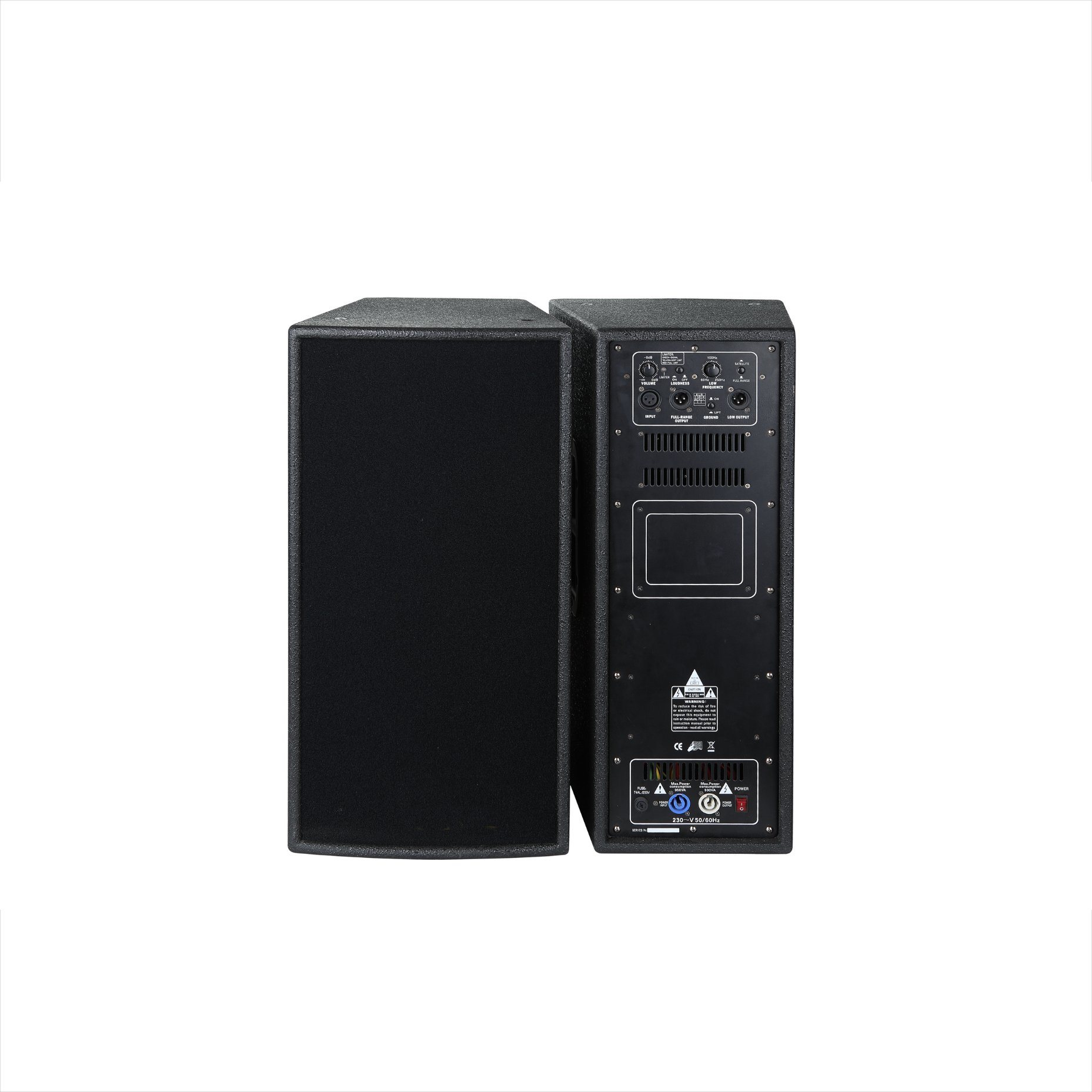 "Dp-10 10"" Two Way Active System Professional Audio Loudspeaker"