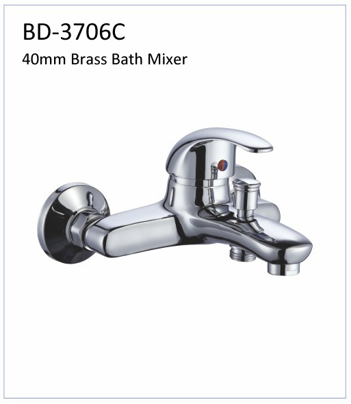 Bd3706D 40mm Brass Single Lever Kitchen Faucet
