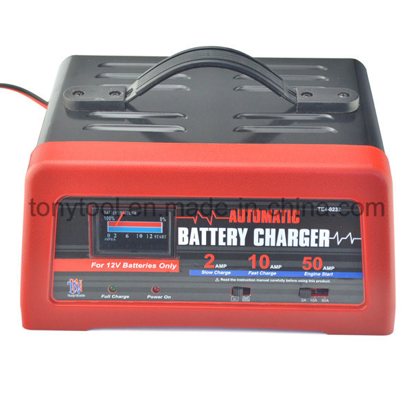 2/10/50A 12V Battery Chargers & Jump Starters