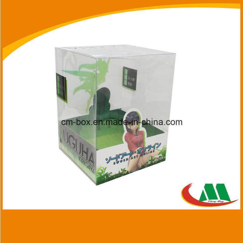 Custom Printed Transparent PVC Packing Box for Doll