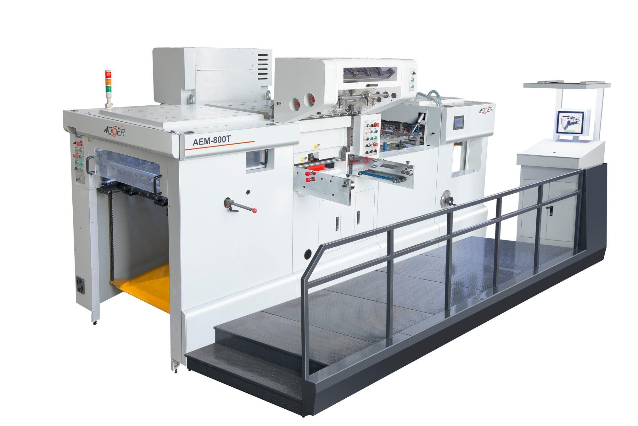 AEM-800t Automatic Hot Stamping & Die Cutting Machine