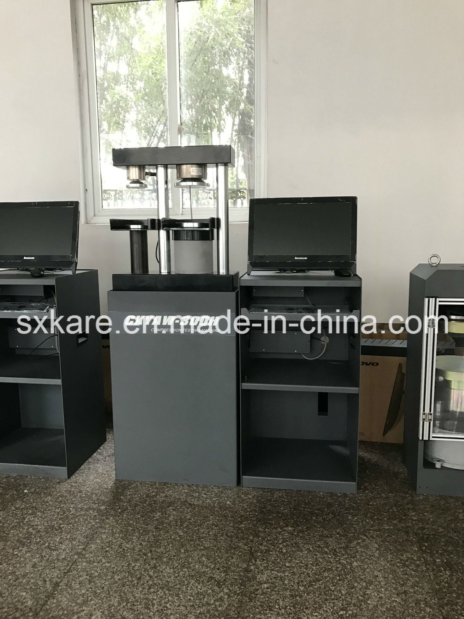 0.5 Grade Computerized Servo Type Cement Flexure and Compression Testing Machine (CXYAW-300S)