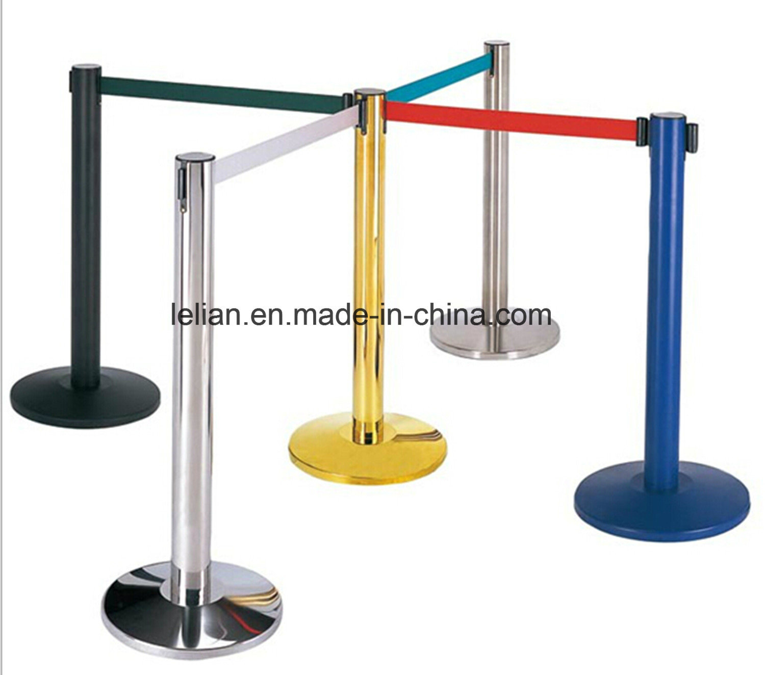 Customize Queue Rope Barrier Pole (LL-RP001)