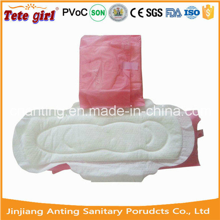 2015 Hot Sell Disposable Women Sanitary Napkin for Africa, Cotton Ladies Pads, Anion Sanitary Napkin