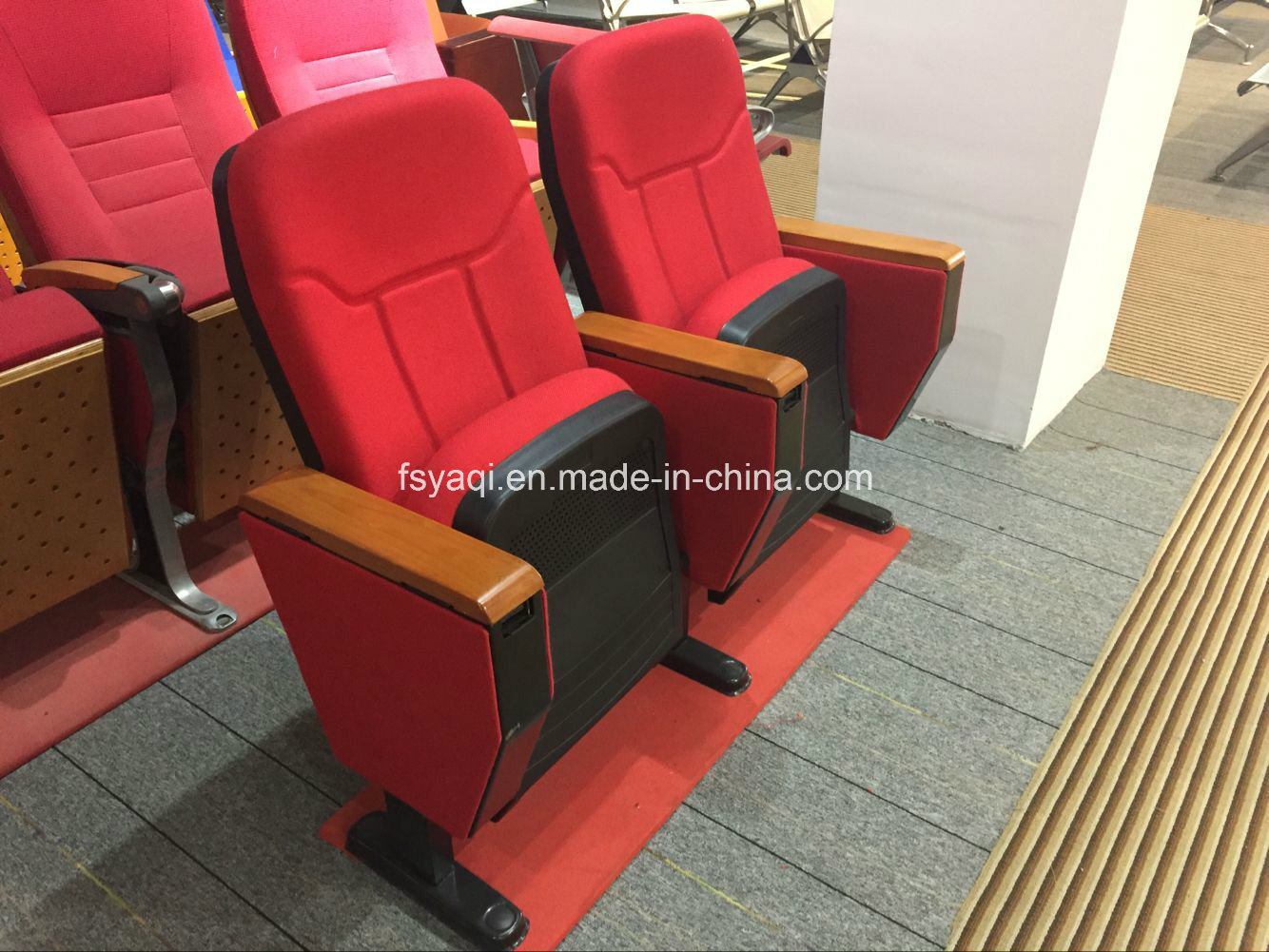 Hot Sale with Competitive Price Auditorium Chair Church Chair Auditorium Seat Auditorium Seating Cofference Chair (YA-04)