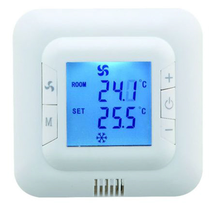 Digital Non Programmable Fcu Room Cooling Heating Temperature Controller Thermostat (HTW-31-F12)
