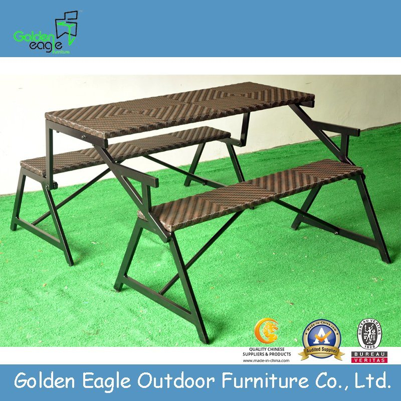 Kd Folding Bench Table and Chairs