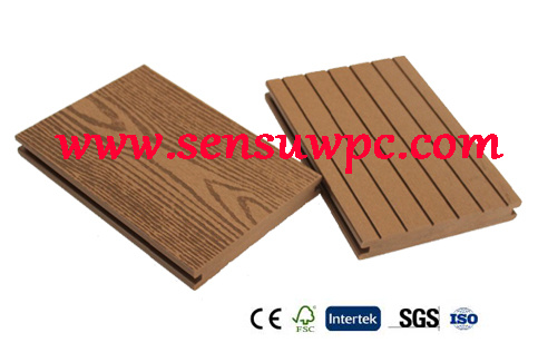 Sensu Outdorr / Directly Factory Price for Solid WPC Decking in 2017