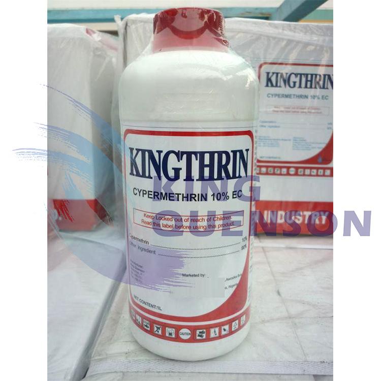King Quenson Fast Delivery High Effective 95% Tc Cypermethrin 10% Ec