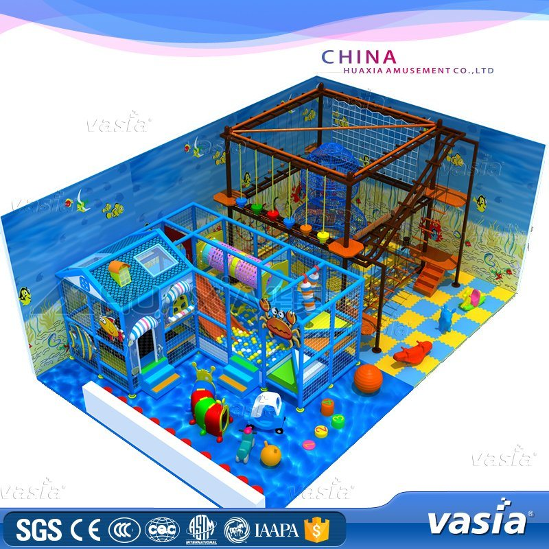 Vasia Hot Sale Commercial Indoor Playground for Kid (VS1-060621-96A-33.)