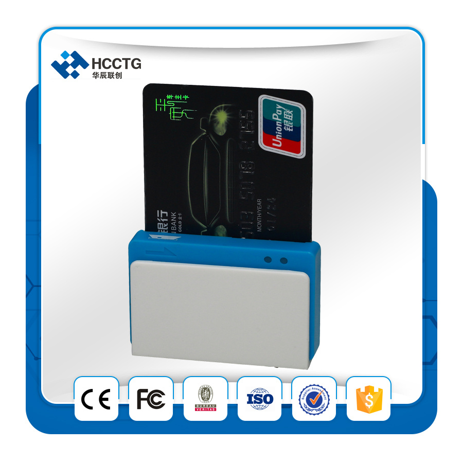EMV OEM Magnetic and Contact IC Bluetooth Mobile Credit Card Reader (MPR100)
