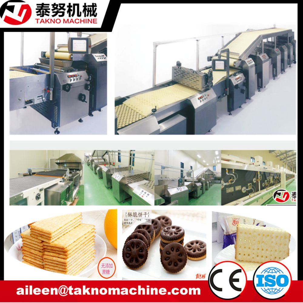 Caramelized Milk Biscuit Making Machine