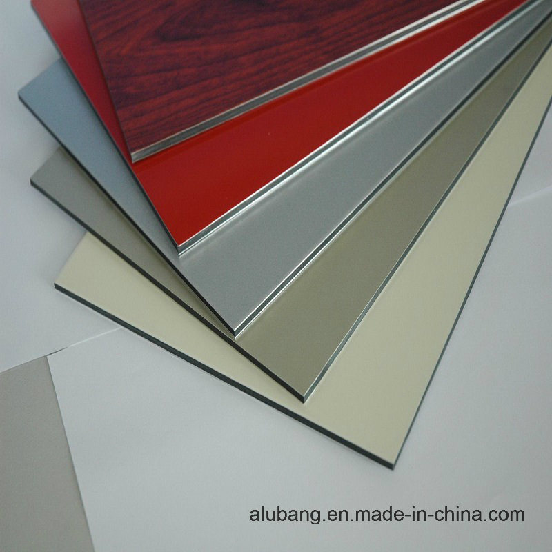 Good Flexibility Aluminum Composite Panel (ALB-021)