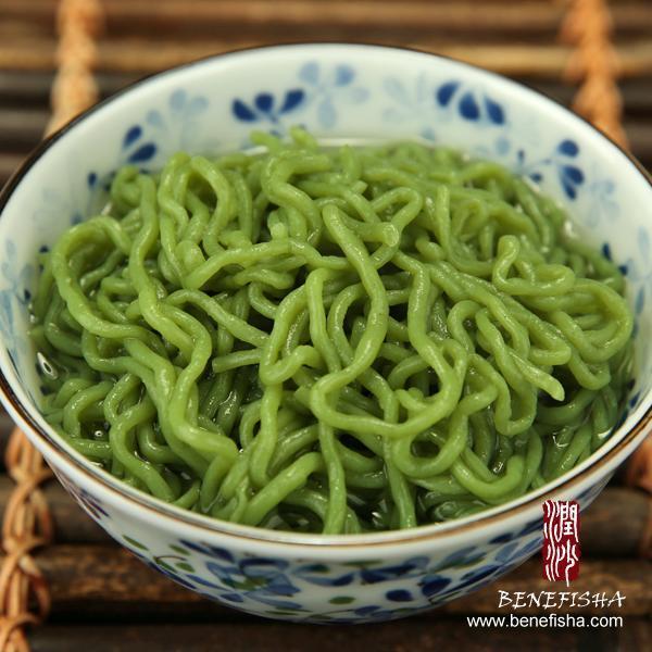 Shirataki /Konjac/Konnyaku Noodles-Spaghetti (Spinach Flavour)