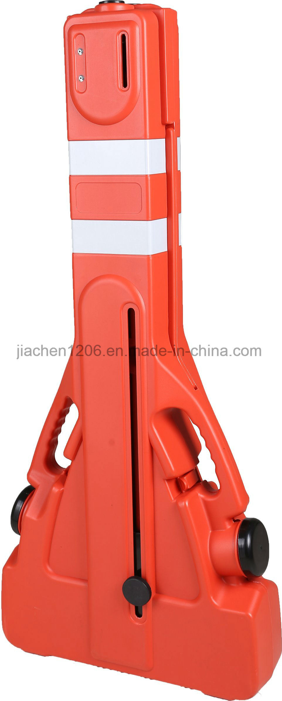 Wholesale Road Barricades Manufacturers Plastic Traffic Pedestrian Expandable Barricade